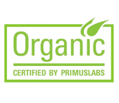 Organic Certified by Primuslabs